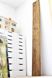 How To Make An Oversized Wood Ruler
