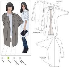 Coat Sewing Patterns Unique Riley Coat Style Arc