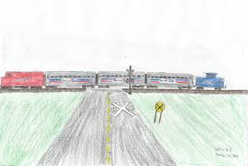 amtrak train drawing. Contemporary Amtrak Amtrak Train How I Used To Make Thempng To Train Drawing W