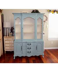 china cabinet hutch. CUSTOM PAINTED Vintage China Cabinet/ Hutch/ Breakfront/ Sideboard, Shabby Chic French Provincial Cabinet Hutch