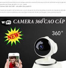 Camera giám sát ngày đêm V380 chuẩn HD 720p, Camera IP Wifi Trong Nhà Xoay  360 độ 2019, Bản Nâng Cấp, Cảnh Báo Chuyển Động, Ghi âm-Siêu Nét. BH 12  THÁNG 1