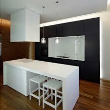 interior design modern kitchen. Unique Interior Downtown Apartment Modern Kitchen Interior Design Decobizz With Regard To Kitchen  Interior Modern Design With R