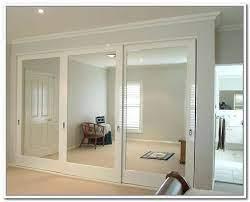 sliding mirror closet door pulls