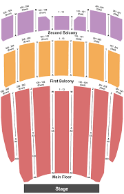 Elliott Hall Of Music Seating Chart Lafayette