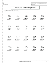 counting money worksheets 2nd grade