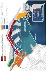 Отчет по летней практике НМТП План размещения районов порта и его причалов