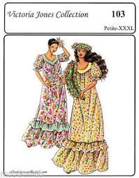 Muumuu Pattern Interesting Loosefit Traditional Muumuu Long Dress P48XL Victoria Jones Sewing