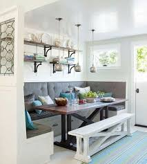 Built In Sitting Area For Small Eat In Kitchen ... |