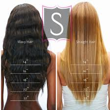 Weave Length Chart And Height 48 Credible Hair Weave Lengths Chart
