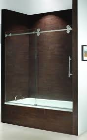 frameless sliding shower door hardware. Frameless Bathtub Doors | Kinetik Sliding Tub Enclosure Single Door Slider With Fixed . Shower Hardware