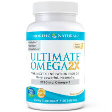 Nordic Naturals <b>Ultimate Omega 2x</b> Softgels, 2150 mg, 60 ct ...