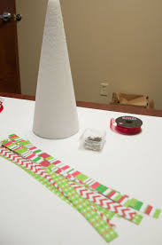 12 Days Of Christmas Crafts Day 5 Paper Loop Christmas Tree  All Foam Christmas Tree Crafts