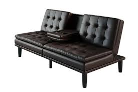 oak futon couch wood frame bed foam