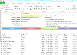 Project Tracking In Excel Task Tracking Template Excel 101juegos Club