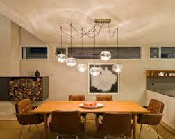 dining table lighting contemporary dining room with round multiple glass pendant luxury light for dining