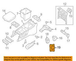 Details About Nissan Oem 17 18 Armada Center Console Seat Heat Switch 251701la1c