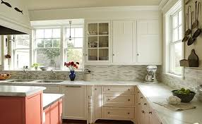 Kitchen Backsplash Ideas With White Cabinets Ideas — Railing ...