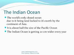 ocean by size best ppt on ocean facts