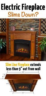 the real flame slim electric fireplace has several advantages when compared to