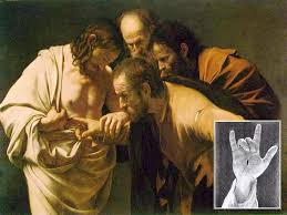 Image result for pictures of bible people that saw Jesus after resurrection