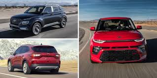 Crossover Suv Comparison Chart 2019 2020 Non Hybrid Crossovers And Suvs With The Highest Mpg
