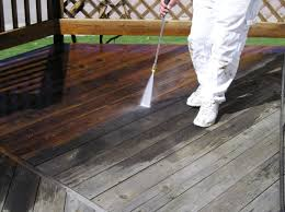 power washing deck. Wonderful Deck High Pressure Washing A Deck Before Staining To Power Washing Deck