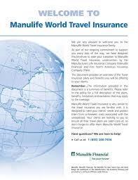 manulife travel insurance canada address raipurnews