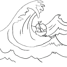 Coloring Pages Of Waves Waves More Coloring Pages Printable Ocean