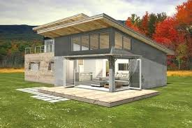 shed roof house plans modern shed house