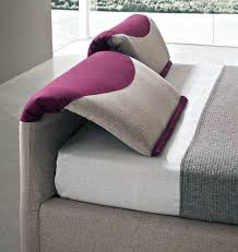 italian contemporary />bedroom furniture</b> decor idea headboard tilted
