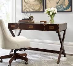 pottery barn office furniture. Pottery Barn DEVON CAMPAIGN DESK In MAHOGANY Office Furniture