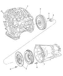 2006 chrysler crossfire transmission mounting related parts diagram i2118453