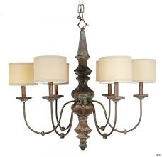 living amusing chandelier with drum shade