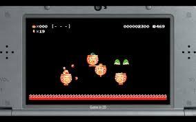 Resultado de imagen de super mario maker 3ds in game