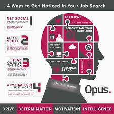 ways to get noticed in your job search opus recruitment solutions this in mind it s important that you do everything possible to get noticed in your job search take a look at our infographic for tips on how you can