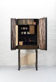 Japanese inspired furniture Diy Launching At Decorex International During London Design Festival This Month in Shadows By Hugh Miller Furniture Is Unique Drinks Cabinet Crafted In Material Source In Shadows Is Japaneseinspired Black Stained Drinks Cabinet By