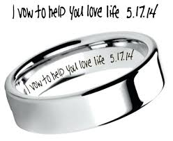 Wedding Ring Engraving Quotes Classy Love Quotes For A Wedding Ring Plus Wedding Band Engraving Ideas