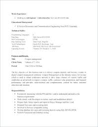 Sample Resume Of Manual Tester Together With Entry Level Software ...