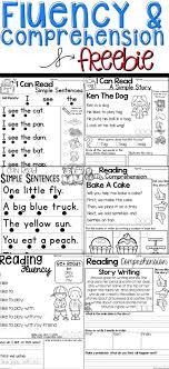 Fluency Comprehension Freebie 10 Reading Activities