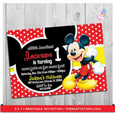 mickey mouse party invitation mickey mouse party invitations printable boy 1st birthday invitation digital kids invite party printables diy decorations coming soon