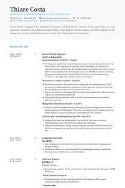 senior system engineer resume samples system engineer resume sample