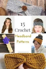 Crochet Headband Pattern Classy Free Crochet Headband Patterns