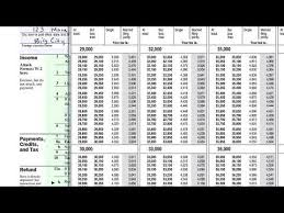 Irs Tax Chart 2014 Filling Out 1040ez Video Tax Forms Khan Academy
