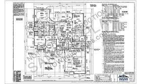 Sample Plan   WOWhouseplans comSheet of a Typical Set of WOW House Plans