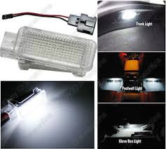 1pc white led door glove box trunk footwell light for audi a4 s4 b5 2017 A4 Interior at Footwell Fuse Box A4 2017