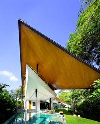 Architecture:Futuristic Home Roof Design With Modern Touch Futuristic Unique  Roof Design In Winged House