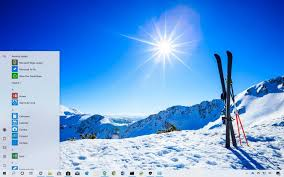 Windows 10 Winter Theme Wintertime Sports Theme For Windows Download Pureinfotech