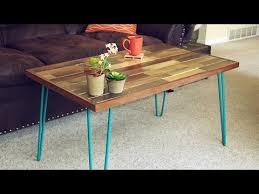 Hairpin Coffee Table Legs Elegant Square Coffee Table For Pallet Pallet Coffee Table With Hairpin Legs