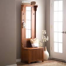 Hat And Coat Rack Tree Mini Hall Tree With Storage Bench And Mirror Shoe See The Entryway 95