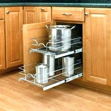 kitchen cabinet pantry pull out storage solutions drawers slide diy e